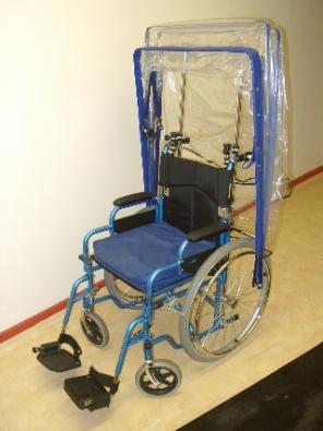 Wheelchair Powerchair Rain Canopy Standard Deluxe
