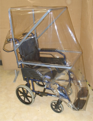 Wheelchair Rain Hood Small