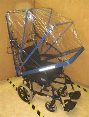 Wheelchair/Powerchair Rain Canopy Small Deluxe