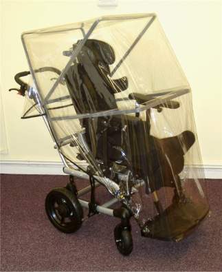 Wheelchair Rain Hood Medium