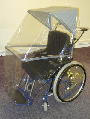 Wheelchair Sun & Rain Hood Medium