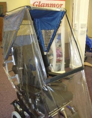 Wheelchair Rain Hood Small Small Wheelchair Rain Hood