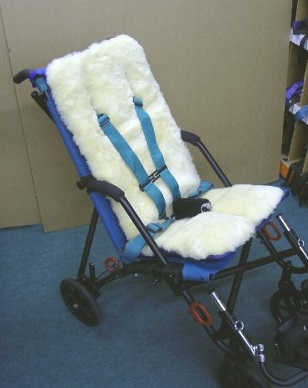 Buggy Cushion Sheepskin