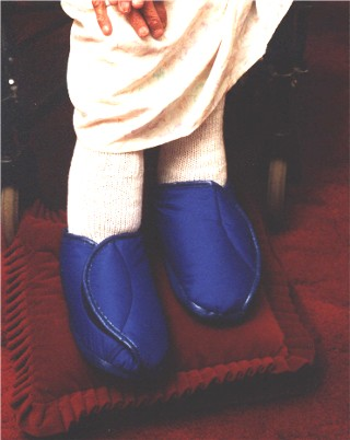 Orthopaedic Slippers Polyester Fleece Lined
