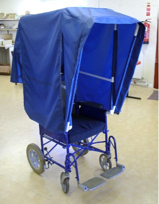 Wheelchair Coverall Sun Canopy, Standard