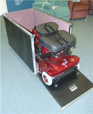 Custom-built Scooter Trunk
