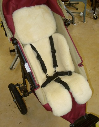 Baby Pushchair Sheepskin